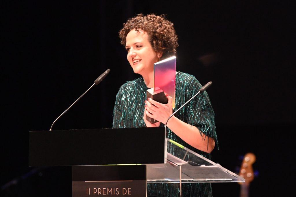 Premis de l'Audiovisual Valencià 2019:Una xarrada amb la guanyadora del premi al Millor Guió, María Minguez.