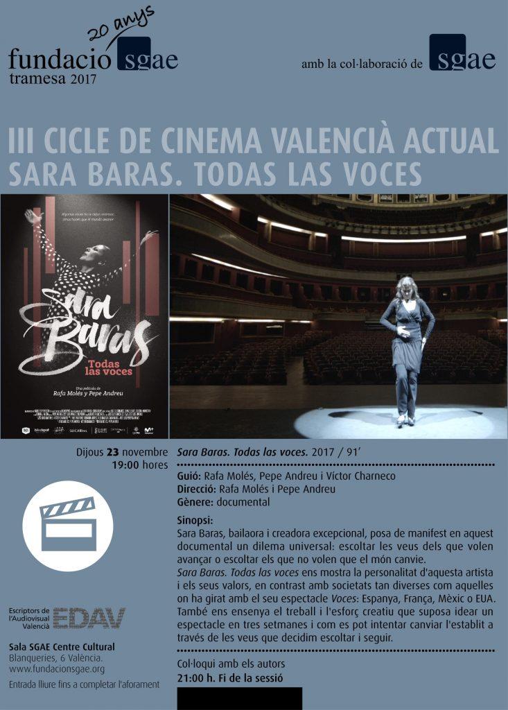 III CICLE DE CINEMA VALENCIÀ ACTUAL